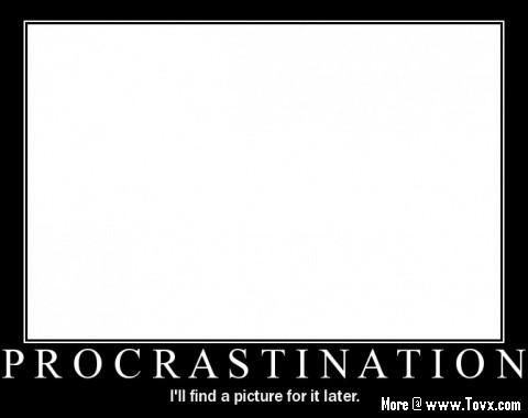 procrastination-motivational-poster